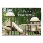 Playground Invitation Stationery Note Card