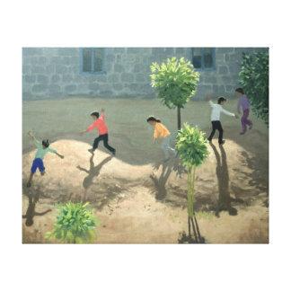 Playground Lesbos 1996 Canvas Print