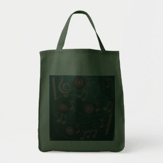 Playground Musical Notes Board Canvas Bag