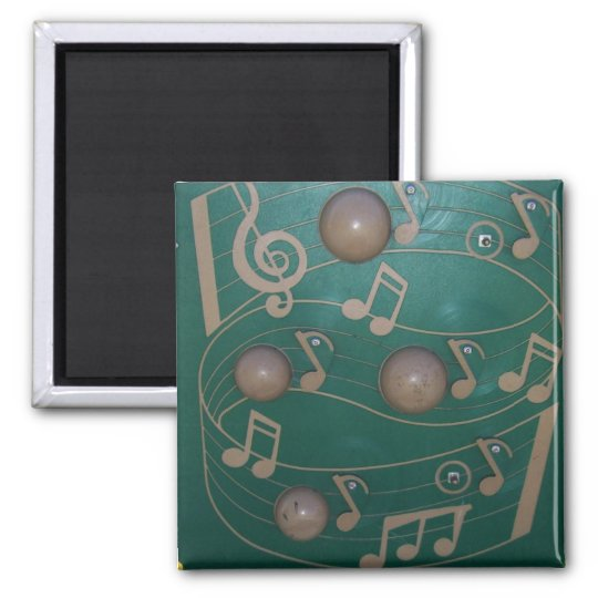 Playground Musical Notes Board Magnet