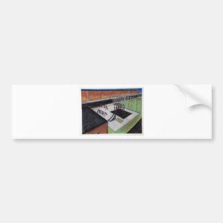 Playground Notecard Car Bumper Sticker