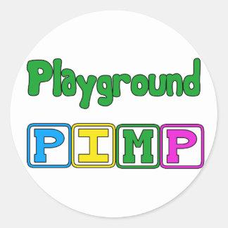Playground Pimp Stickers