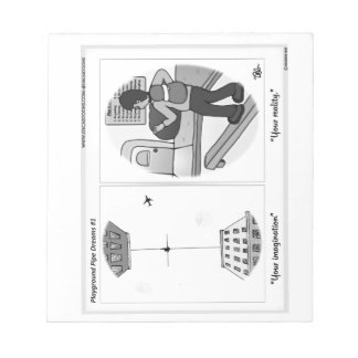 Playground Pipe Dreams 1 Notepad