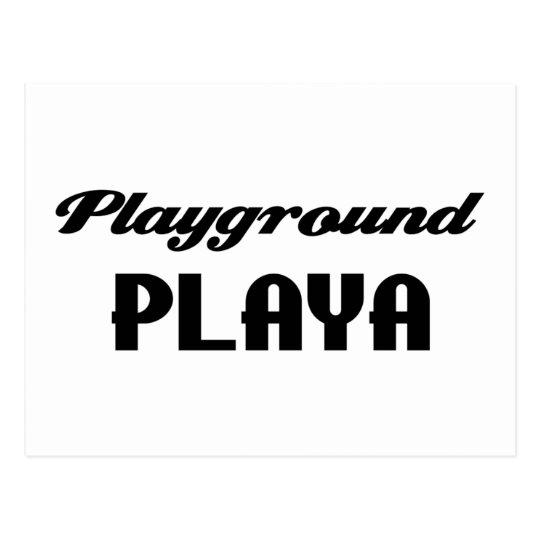 Playground Playa Item Postcard