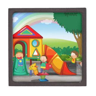 Playground Premium Jewelry Box