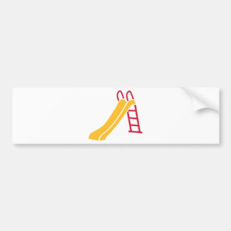 Playground slide bumper stickers