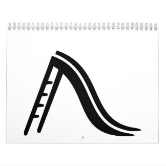 Playground slide calendar
