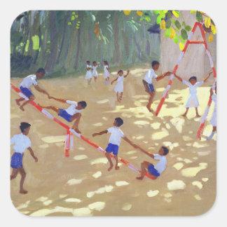 Playground Sri Lanka 1998 Square Sticker