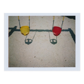 Playground Swings Postcard