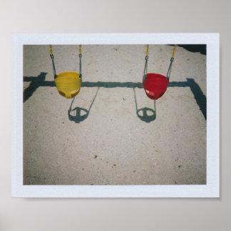 Playground Swings Poster