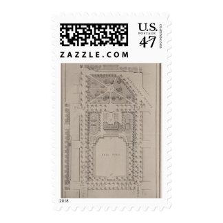 Playground, Washington Square, San Francisco Postage Stamp