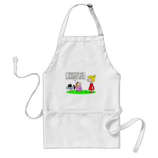 playgroup emergency meeting adult apron