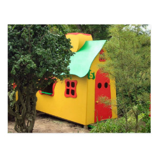 Playhouse inspired by Gaudi Post Card