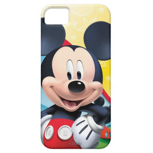 Playhouse Mickey iPhone 5 Cases