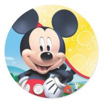 Playhouse Mickey Classic Round Sticker