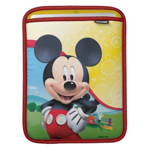 Playhouse Mickey iPad Sleeves