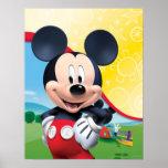 Playhouse Mickey Poster