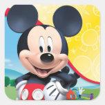 Playhouse Mickey Square Sticker