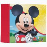 Playhouse Mickey Vinyl Binder