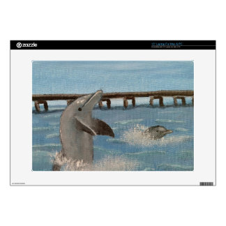"""Playin in the Surf 15"""" Laptop Skin for PC and Mac"""