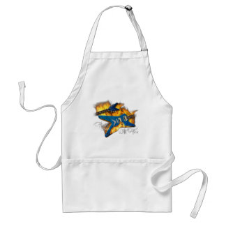 Playin with Fire Guitar Apron