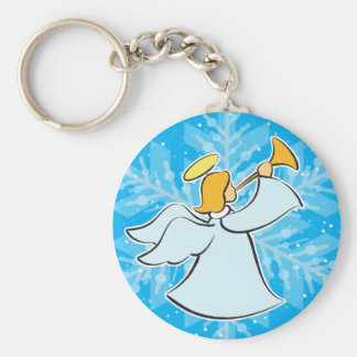 Playing Angel Keychain