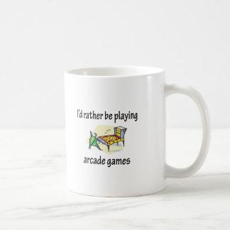 Playing Arcade Games Coffee Mug