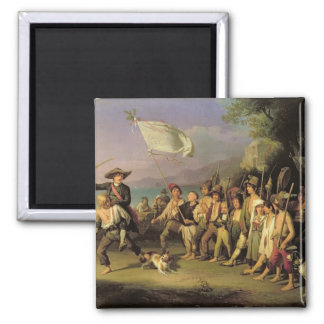 Playing at Soldiers, Roman Revolution 1848 Magnet