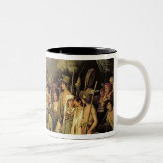 Playing at Soldiers Roman Revolution 1848 Coffee Mug