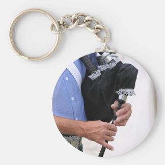 playing bagpipe key chain