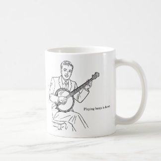 Playing Banjo Is Keen Coffee Mug
