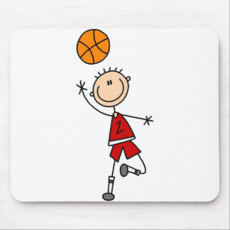 Playing Basketball Mousepad
