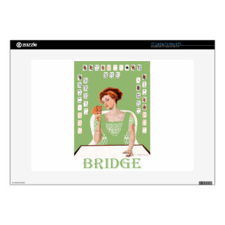 Playing Bridge Decals For Laptops