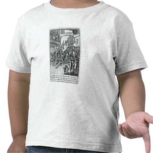 Playing card depicting the Ensigns Tee Shirt