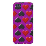 Playing Card Figure Pattern Design iPhone 5 Case