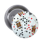Playing Card games 2 Inch Round Button