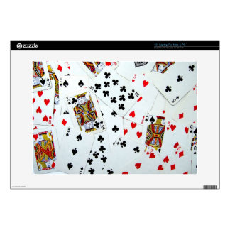 Playing Card games Decal For Laptop