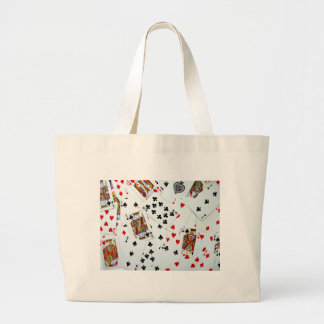 Playing Card games Large Tote Bag