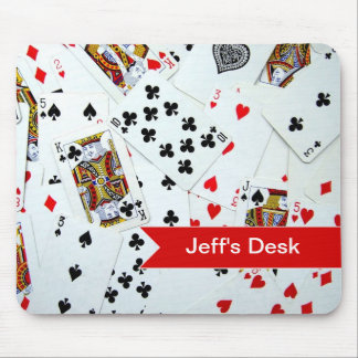 Playing Card games Mouse Pad
