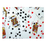 Playing Card games Post Cards