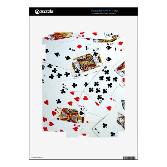 Playing Card games Skin For The iPad 2