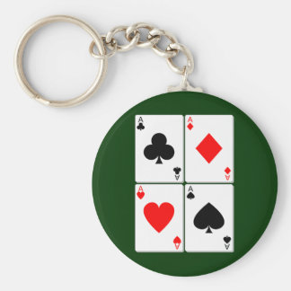 Playing Card Keychain