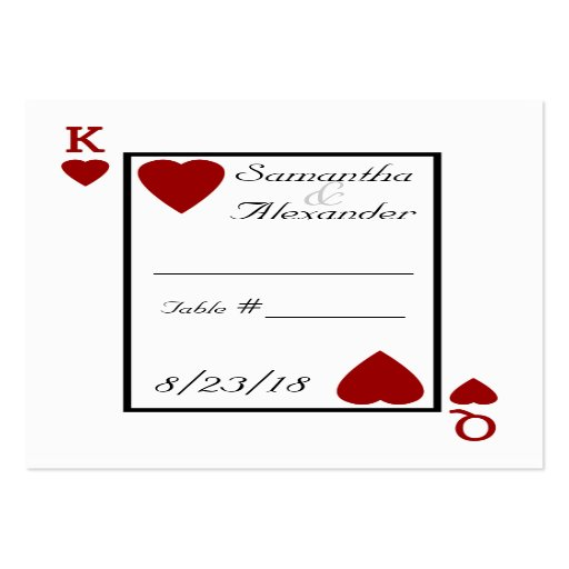 playing card template .