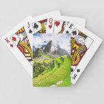 Playing card Machu Picchu, Cusco,  Peru