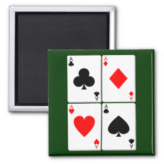 Playing Card Magnet