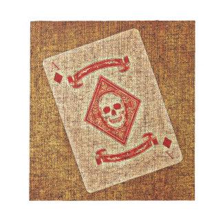 Playing Card Notepad