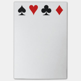 Playing Card Score Pad Post-it® Notes
