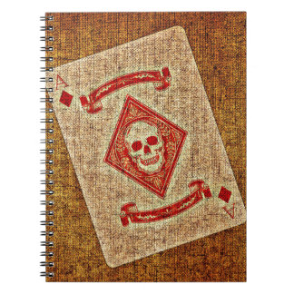 Playing Card Spiral Notebook