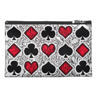 PLAYING CARD SUITS Accessory Bag