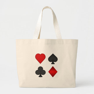 Playing Card Suits: Tote Bag